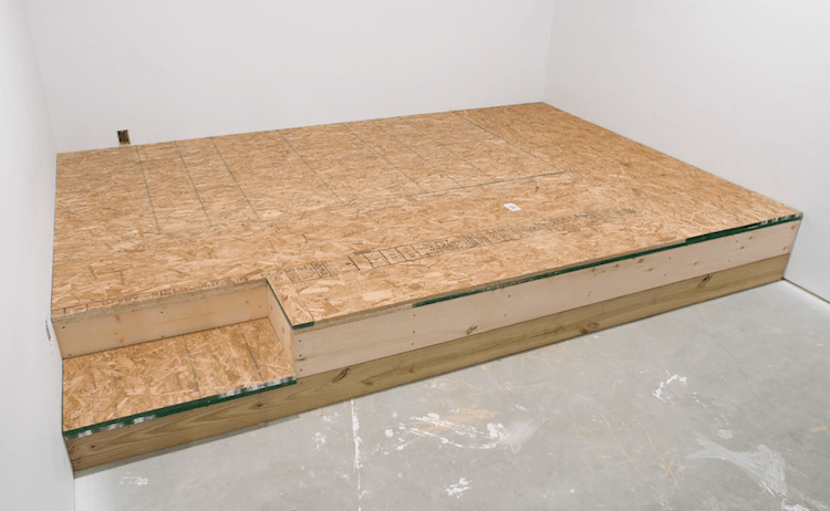 How to build a theater riser Step 12