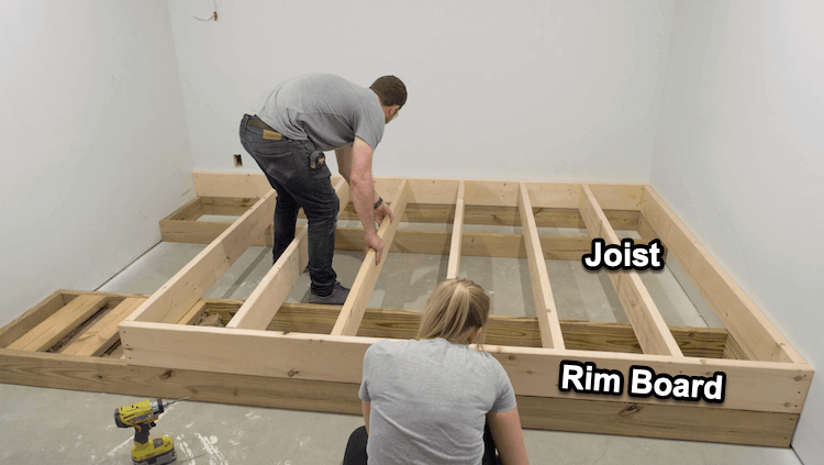 How to build a theater riser Step 4 1