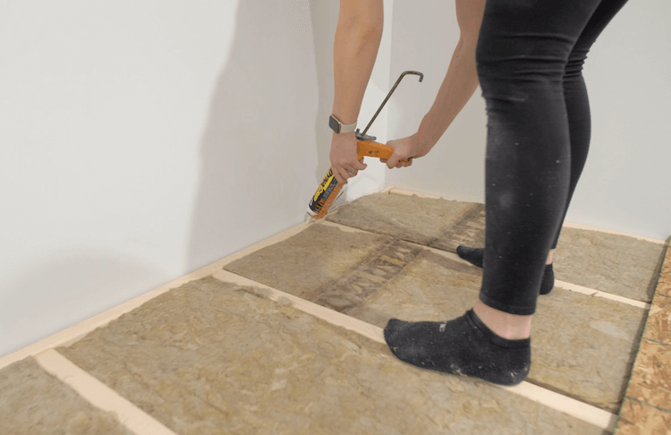 How to build a theater riser Step 7