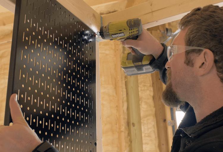 Portable Garage Storage Shelves DIY Plans6