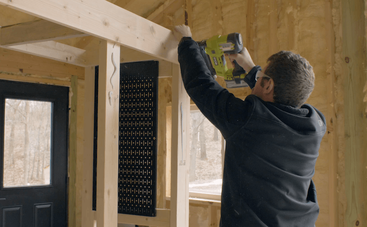 Portable Garage Storage Shelves DIY Plans7