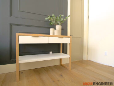 Modern Console Table More Diy