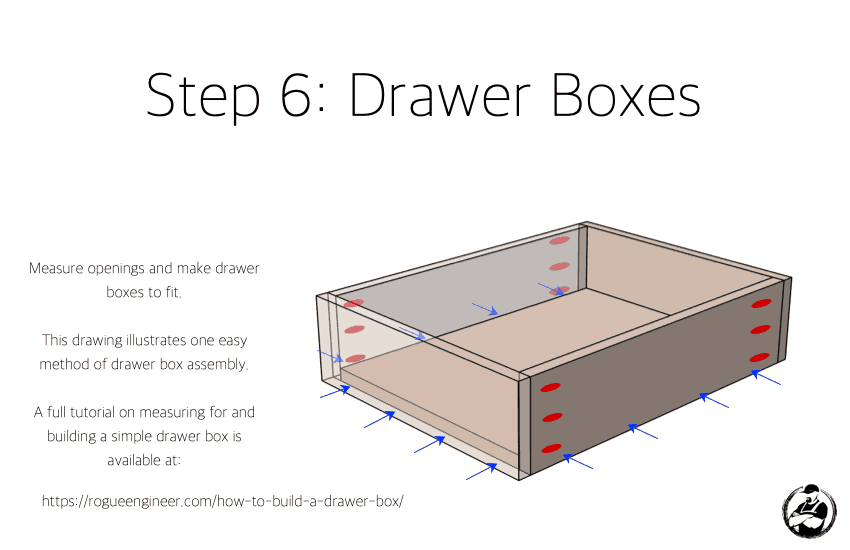 DIY Modern Console Table Plans Step 6