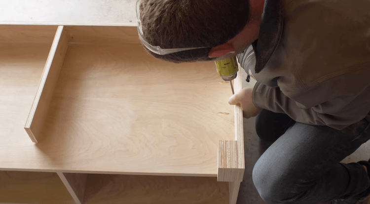 DIY Mudroom Bench 2