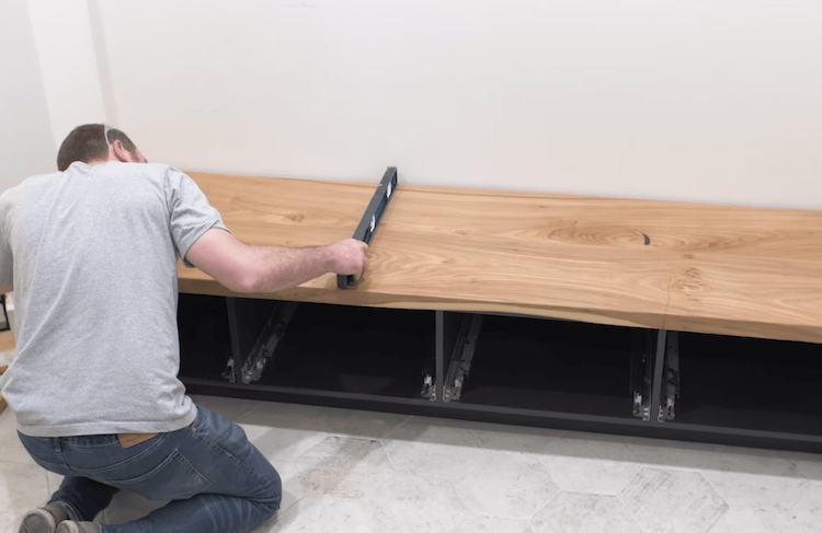 DIY Mudroom Bench 24