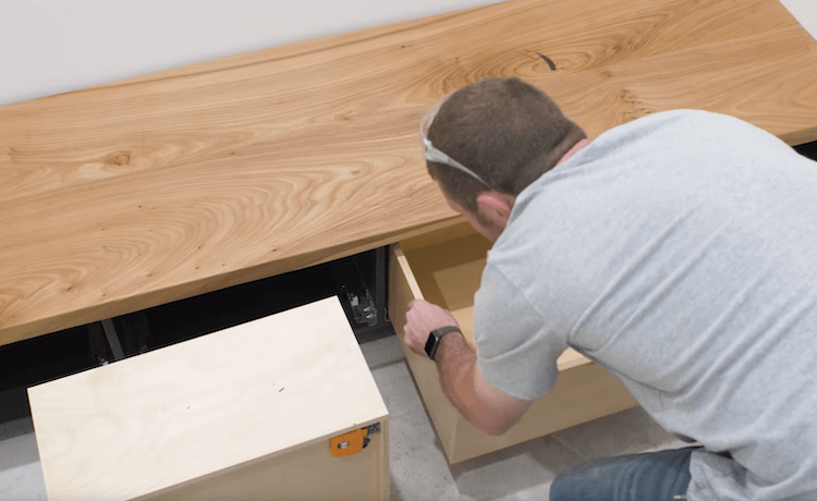 DIY Mudroom Bench 26