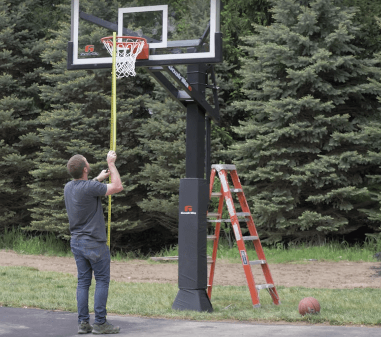In Ground Basketball Hoop Installation 18