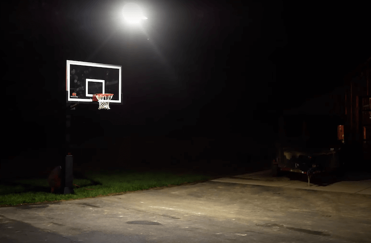 In Ground Basketball Hoop Installation 29