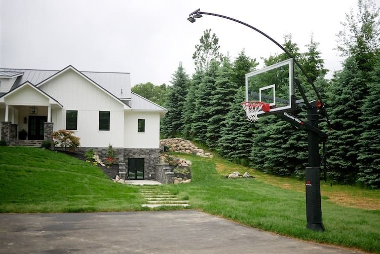 In Ground Basketball Hoop Installation
