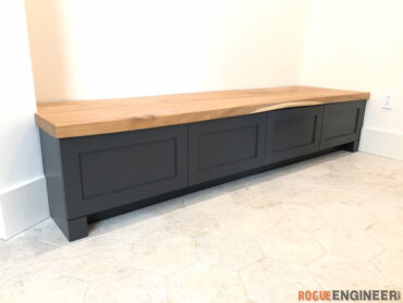 mudroom bench 1