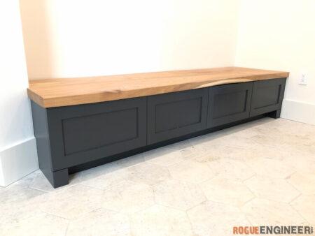 mudroom bench 1
