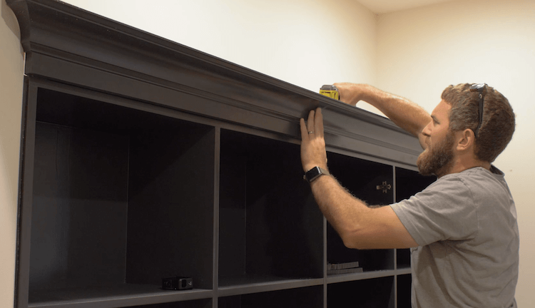 How to Build Mudroom Lockers 20