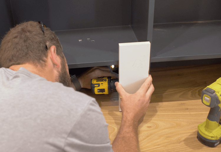 How to Build Mudroom Lockers 22