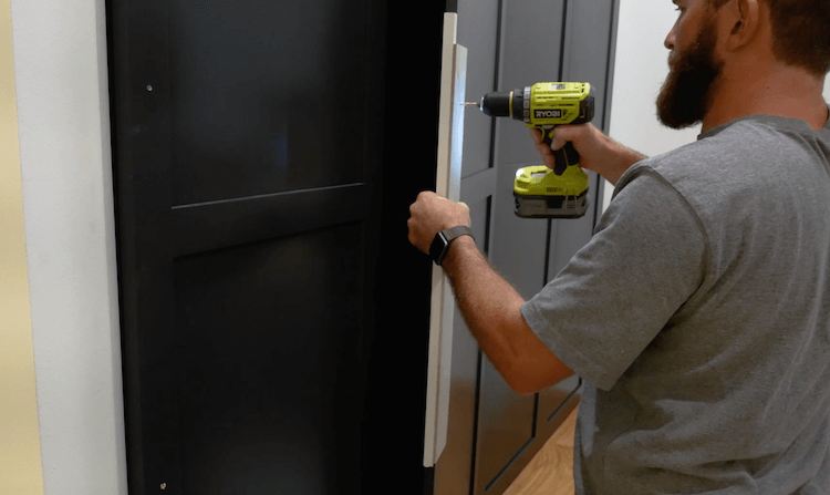 How to Build Mudroom Lockers 26