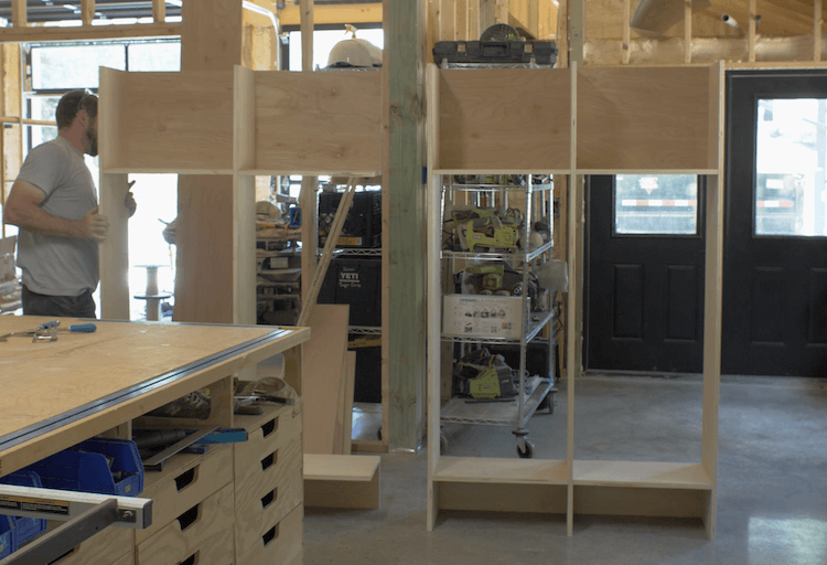 How to Build Mudroom Lockers 6