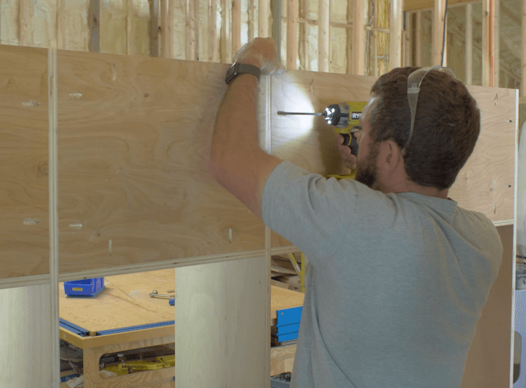 How to Build Mudroom Lockers 7
