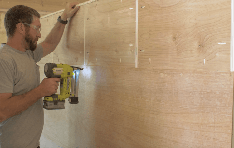 How to Build Mudroom Lockers 8