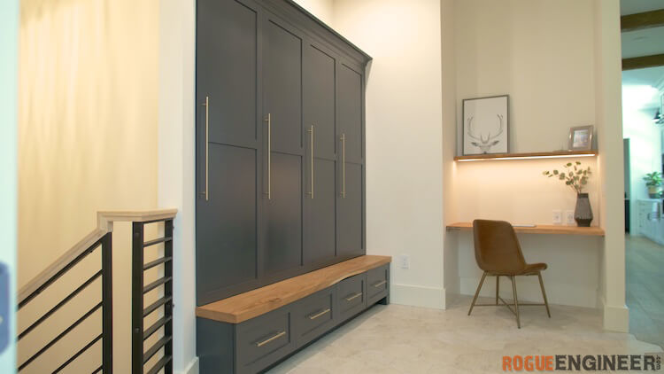 How to build Mudroom Lockers 2