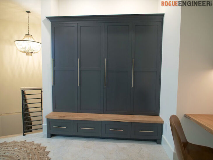 How to build Mudroom Lockers 4