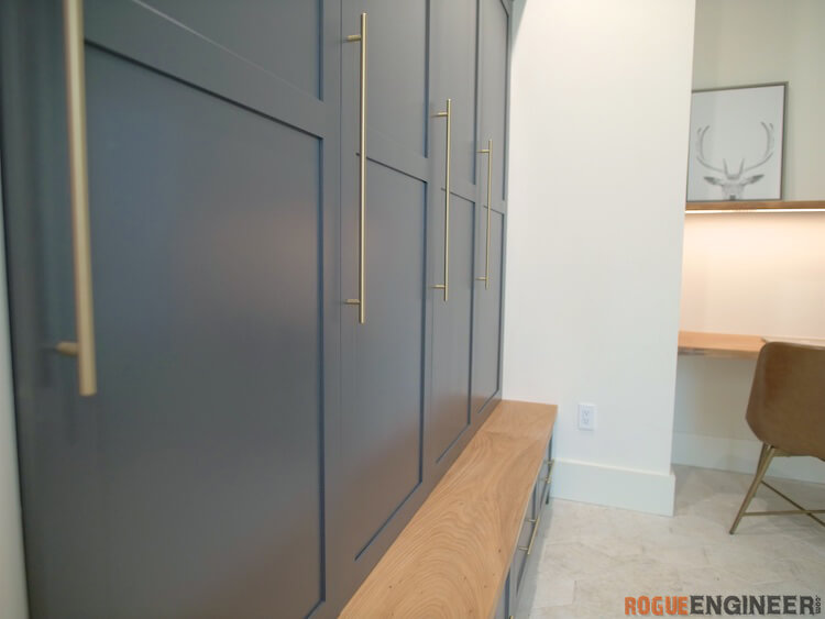 How to build Mudroom Lockers 9