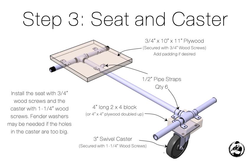 DIY Hoveboard Go Kart Attachment Step 3