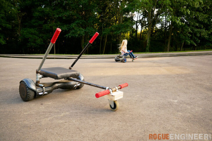 DIY HoverKart Attachment Rogue Engineer 3
