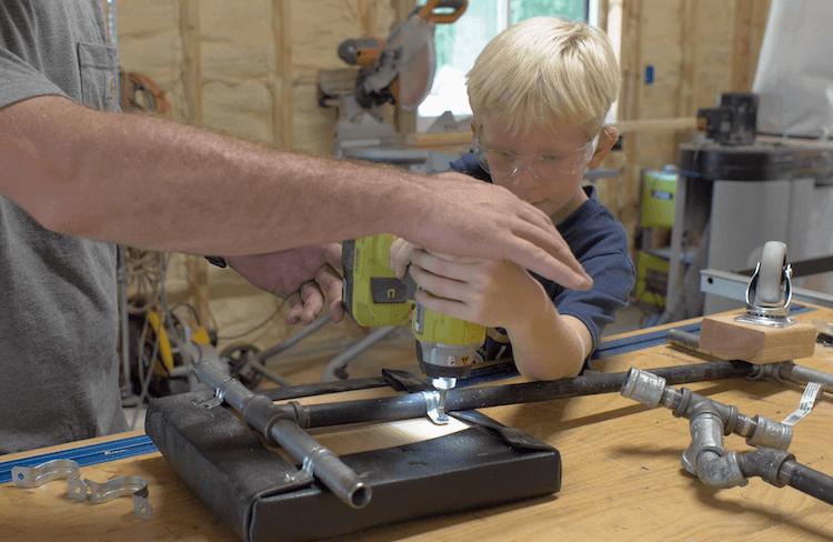 DIY Hoverboard Go Kart Attachement 10