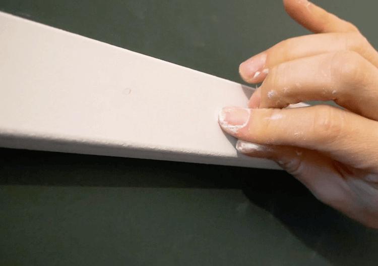 DIY Geometric Accent Wall Tutorial Step 11