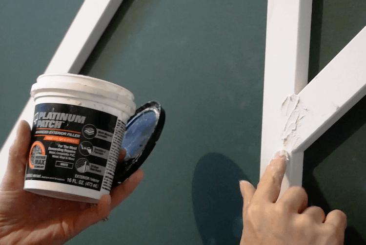 DIY Geometric Accent Wall Tutorial Step 12