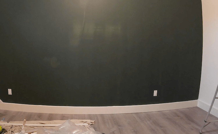 DIY Geometric Accent Wall Tutorial Step 2