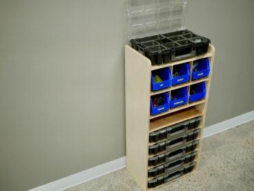 DIY Small Parts Organizer Plans Rogue Engineer 1