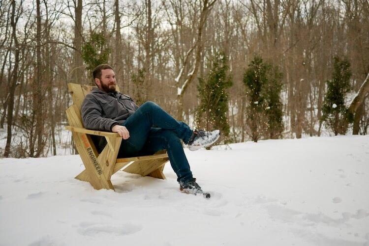 DIY Easy Modern Adirondack Chair Plans Rogue Engineer 2