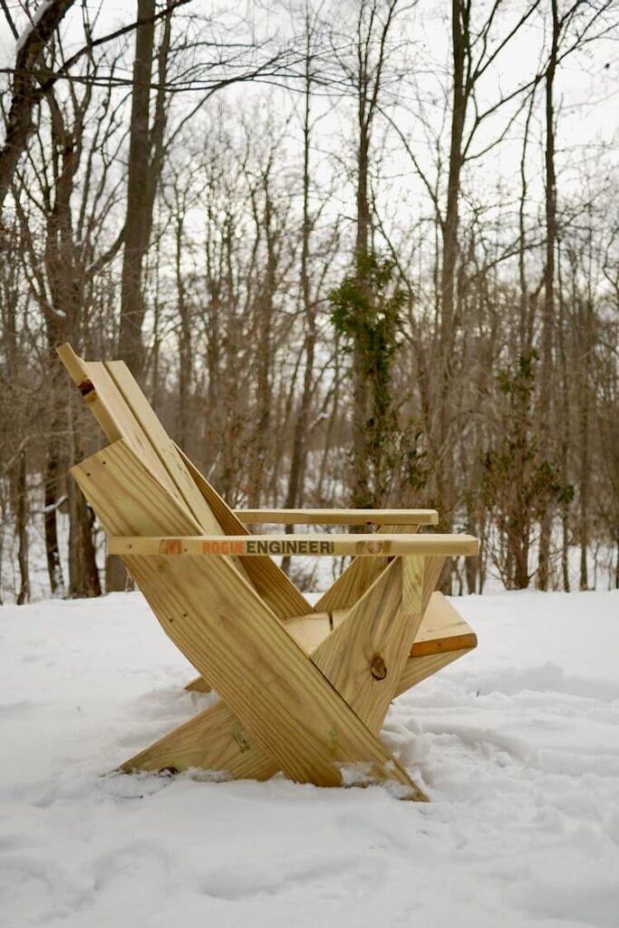 DIY Easy Modern Adirondack Chair Plans Rogue Engineer 3
