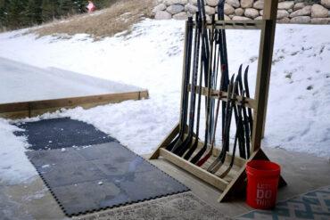 DIY Freestanding Hockey Stick Rack Plan Rogue Engineer 1