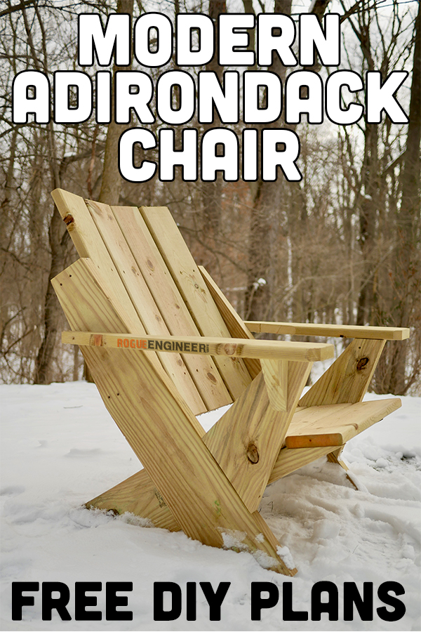 Easy Adirondack Chair Plans PIN ME