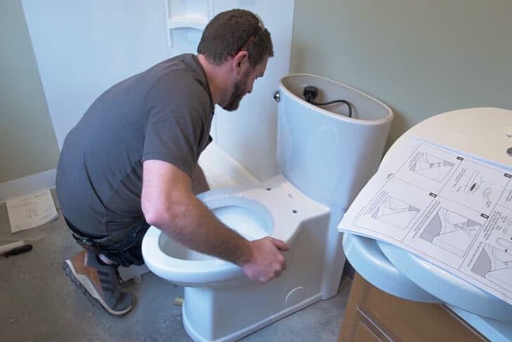 How to Install a Toilet Rogue Engineer
