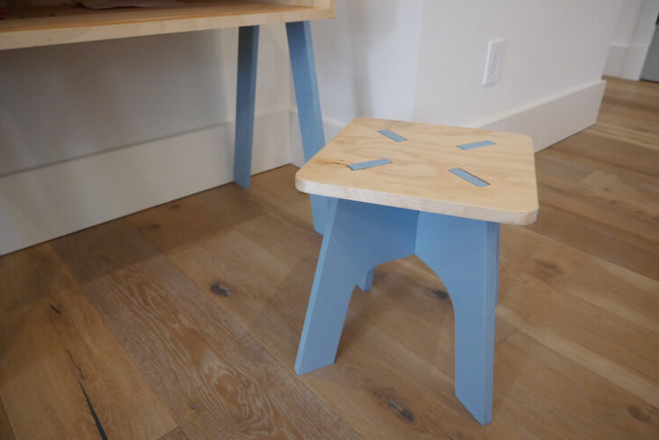 Kids Knockdown Stool 6