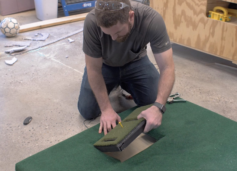 DIY Golf Simulator Plans 15