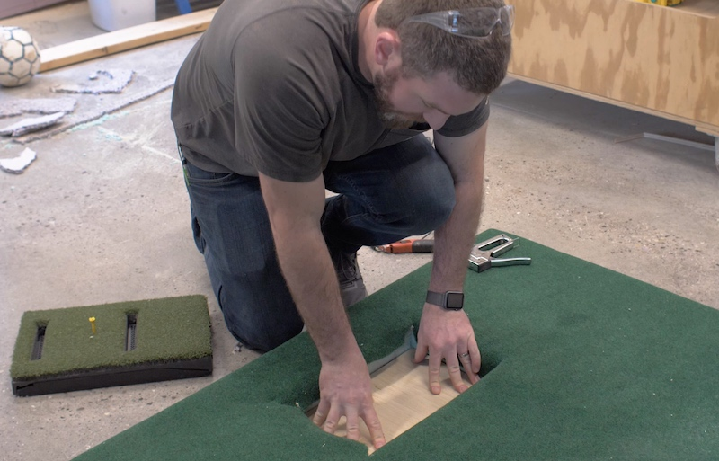 DIY Golf Simulator Plans 16