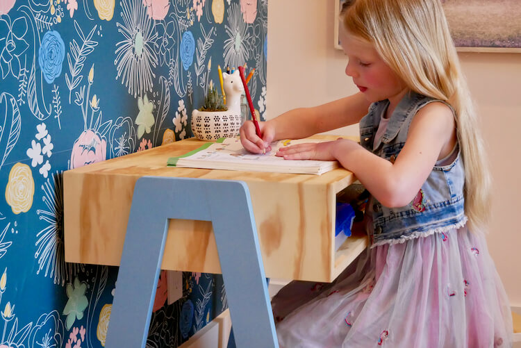 DIY Kids Desk Plans Rogue Engineer 4