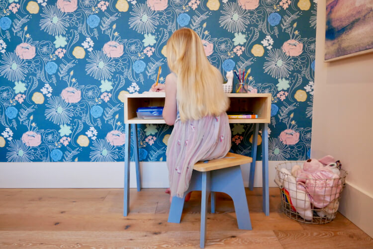 DIY Kids Desk Plans Rogue Engineer 5