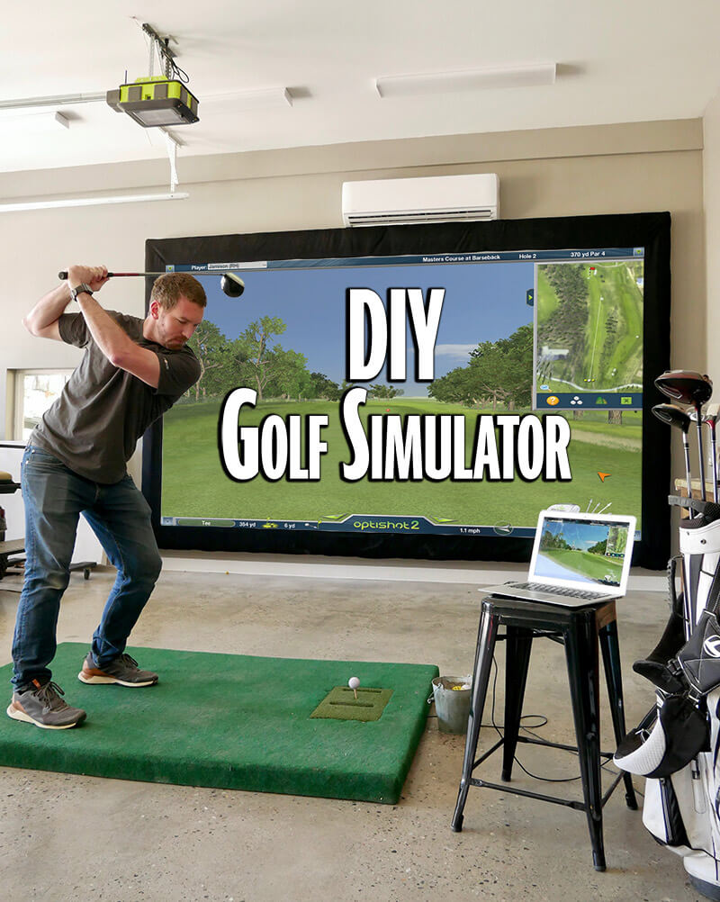 Golf Sim Rogue Engineer Pin Me