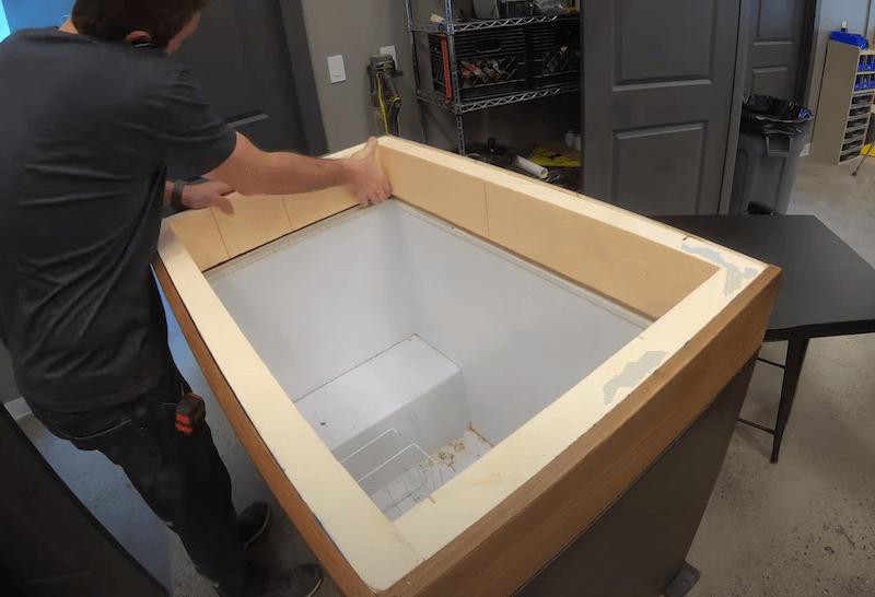 DIY Keezer Plans Turning a Chest Freezer into a Kegerator11