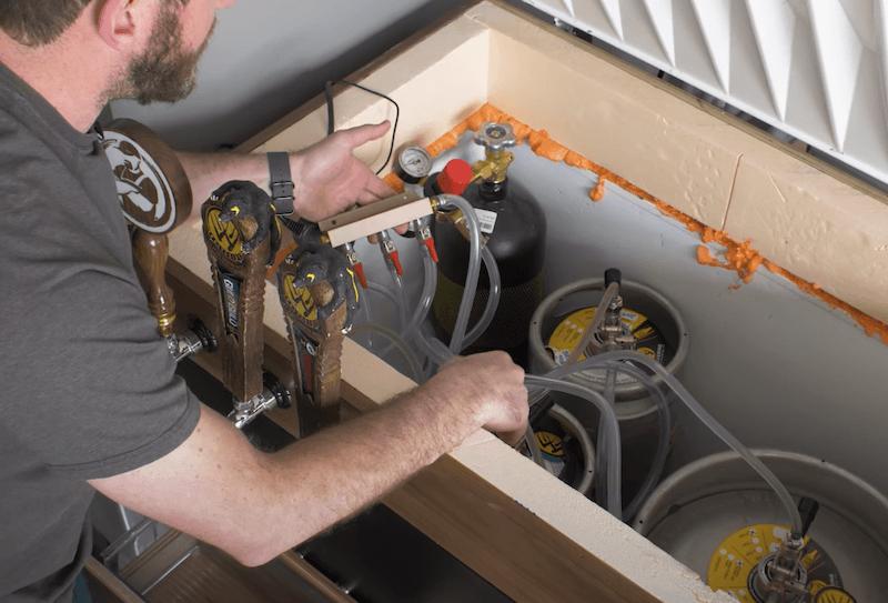 DIY Keezer Plans Turning a Chest Freezer into a Kegerator21