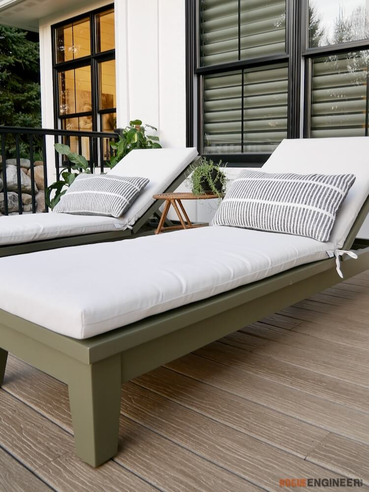 DIY Outdoor Chaise Lounge Plans Rogue Engineer 1