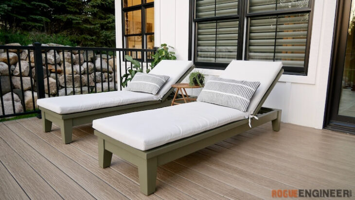 Outdoor Chaise Lounger Rogue Engineer