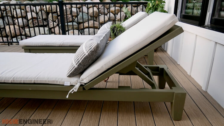 DIY Outdoor Chaise Lounge Plans Rogue Engineer 3