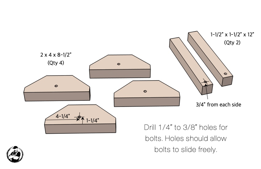 DIY Outdoor Chaise Lounger Chair Plans Step 7