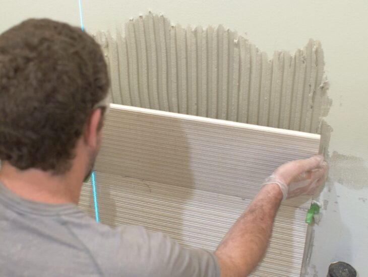 How to Install Large Format Wall Tile 13