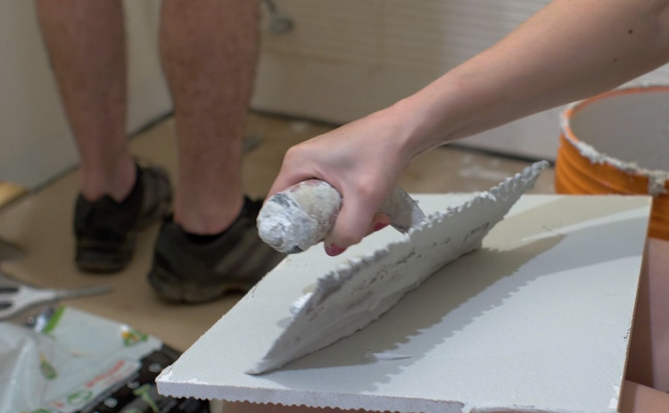 How to Install Large Format Wall Tile 6